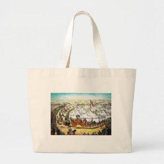 Vintage Circus Parade Canvas Bag