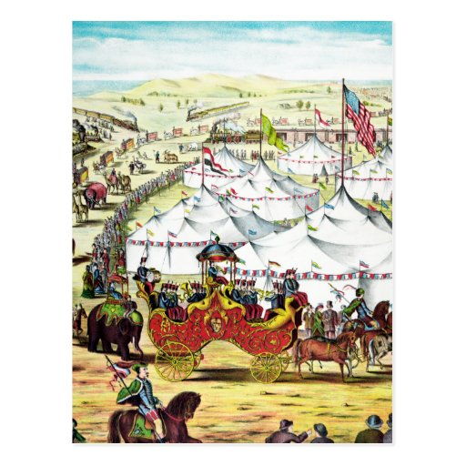 Vintage Circus Parade Post Cards