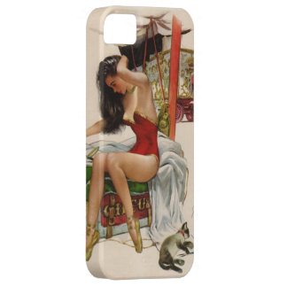 Vintage Circus Pin-up Girl iphone 5 cases