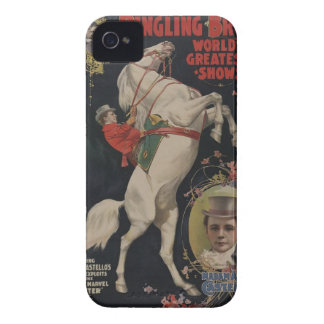 Vintage Circus Poster iphone cases