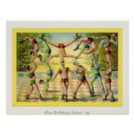 Vintage Circus Print  ~ 1891