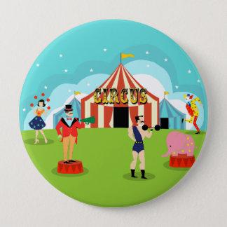 Vintage Circus Round Button