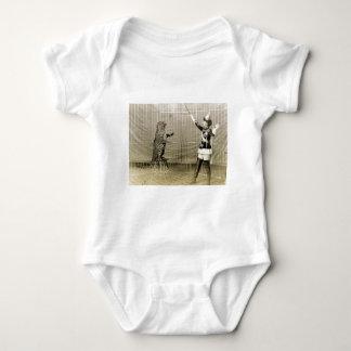 Vintage Circus Trainer Baby Bodysuit