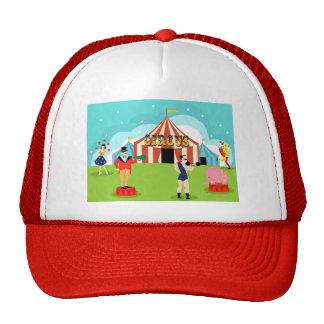 Vintage Circus Trucker Hat