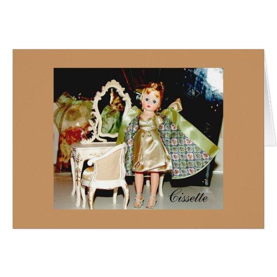 Vintage Cissette Card