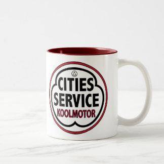 Vintage Cities Service koolmotor sign Mug