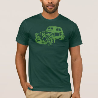 Vintage Citroen 2CV Green T-Shirt