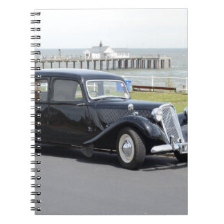 Vintage Citroen Spiral Note Books