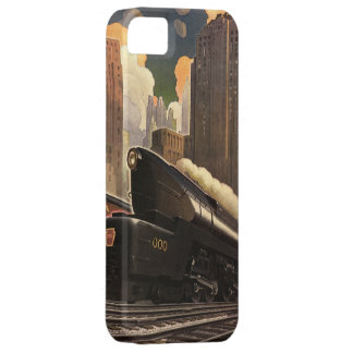 Vintage City, T1 Duplex Train on Railroad Tracks Case For The iPhone 5