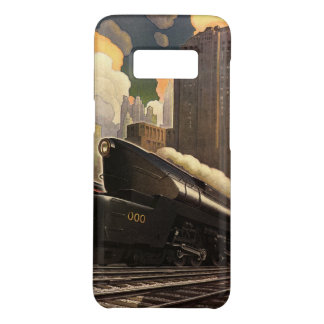 Vintage City, T1 Duplex Train on Railroad Tracks Case-Mate Samsung Galaxy S8 Case