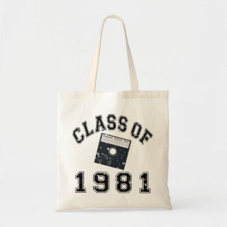 Vintage Class Of 1981 Computer Science Budget Tote Bag