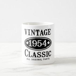 Vintage Classic 1954 Gifts Coffee Mug