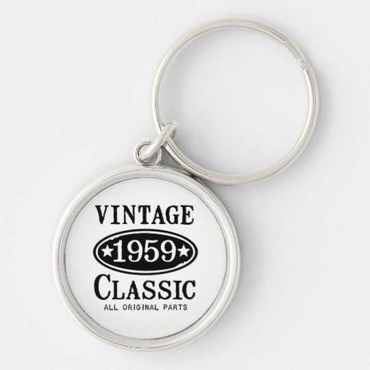 Vintage Classic 1959 Jewellery Key Ring