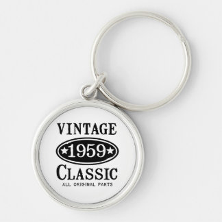 Vintage Classic 1959 Jewelry Key Ring