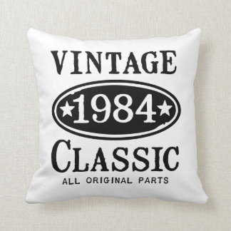 Vintage Classic 1984 gifts Cushion