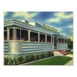 Vintage Classic 50s Retro Restaurant Pelican Diner Personalized Invites