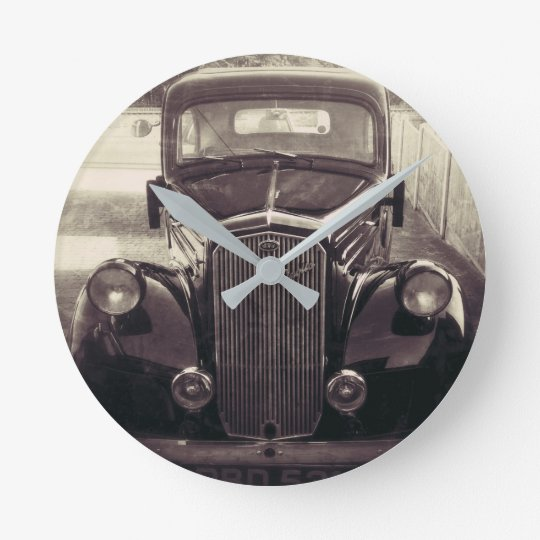 antique car wall clocks