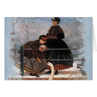Vintage Classic Christmas Holiday card
