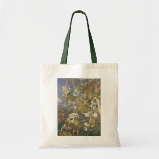 Vintage Classic Storybook Characters, Edmund Dulac Budget Tote Bag