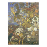 Vintage Classic Storybook Characters, Edmund Dulac Custom Invites