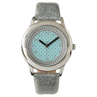 Vintage_Classic_Treasure_Turquoise-Silver-Old Gold Wristwatch