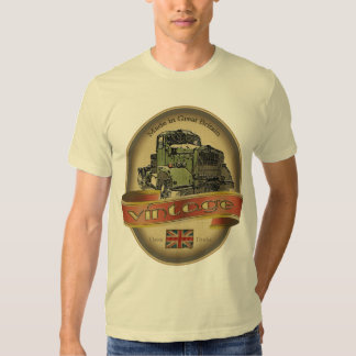 Vintage Classic Truck Label TShirts