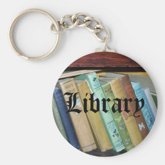 Vintage Classics Books Library Keychain