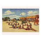 Vintage Clearwater Beach Florida Postcard