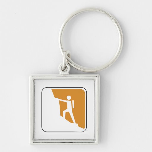 Vintage Climbing Sign Key Chains
