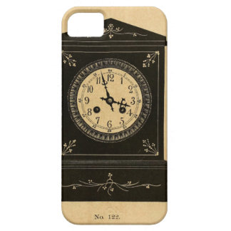 Vintage Clock Advertisement iPhone 5/5S Covers