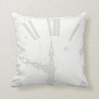 Vintage Clock Custom Cotton Pillows