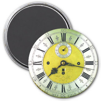 Vintage Clock Pocket Watch 7.5 Cm Round Magnet