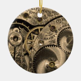 Vintage Clockwork Ornament