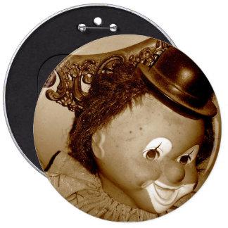 Vintage Clown Button