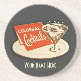 Vintage Cocktail Coaster