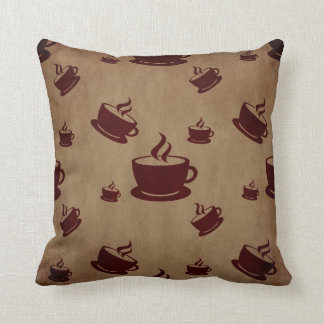 Vintage Coffee Cup Wonderland Pillows