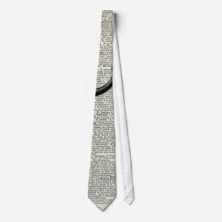 Vintage Coffee Grinder Tie