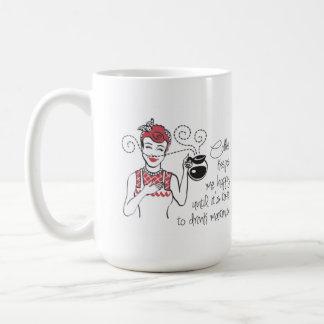 Vintage Coffee & Martinis Customizable Mug