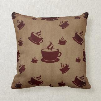 Vintage Coffee Throw Pillow