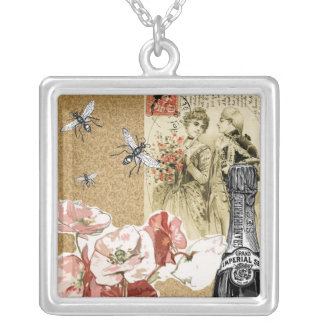 Vintage Collage Necklaces