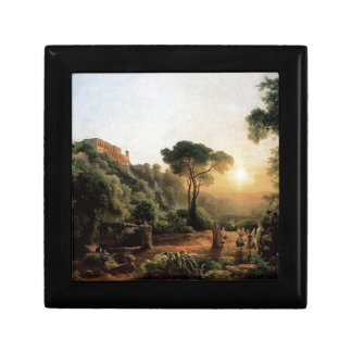 Vintage Collection - Landscape Painting Small Square Gift Box