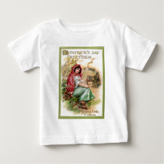 Vintage Colleen St Patrick's Day Card Baby T-Shirt