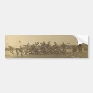 Vintage College Football Game from 1902 Bumper Sticker