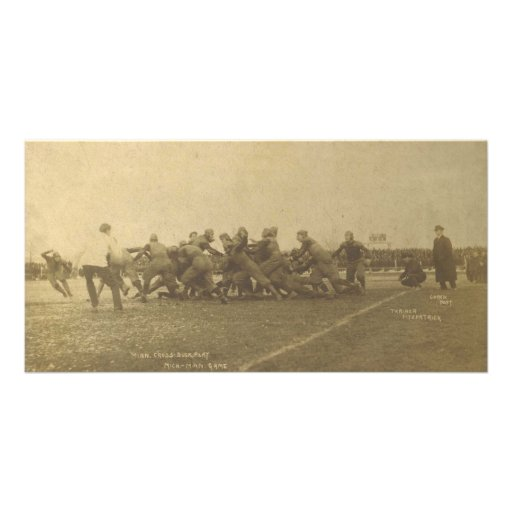 Vintage College Football Game from 1902 Photo Cards