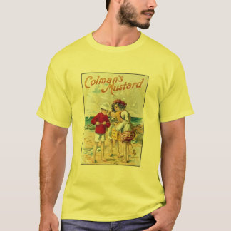 Vintage Colman's Mustard Kids On the Beach Ad T-Shirt
