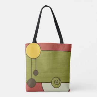 Vintage Color Bold Tote Bag