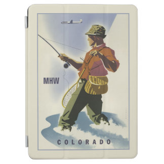 Vintage Colorado custom monogram device covers iPad Air Cover