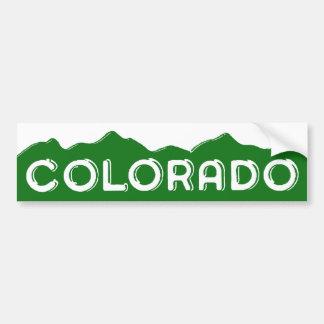 Vintage Colorado Licence Plate Bumper Sticker