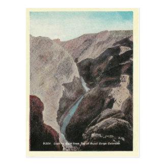 Vintage Colorado Royal Gorge Postcard