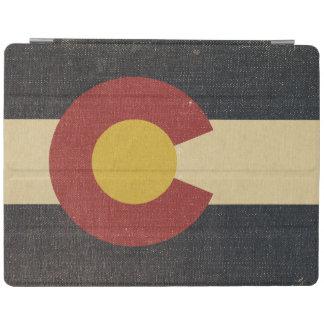 Vintage Colorado State Flag iPad Cover